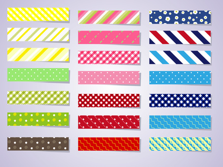 Masking tape assortment 01