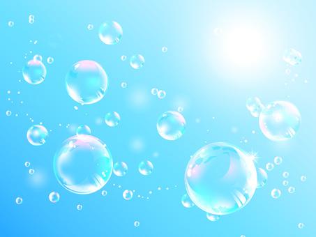 Fluffy flying fantastic bubbles 01