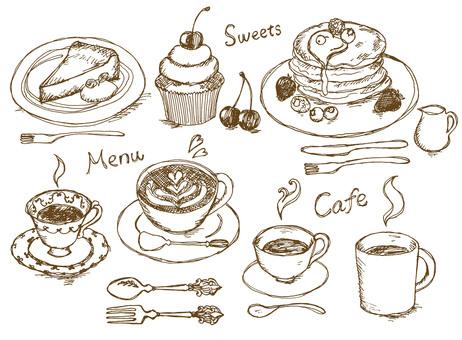 咖啡菜單真實