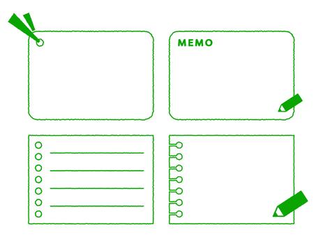 Notes frame 4 species