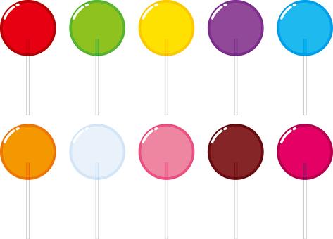 Lollipop Peropero Candy Set