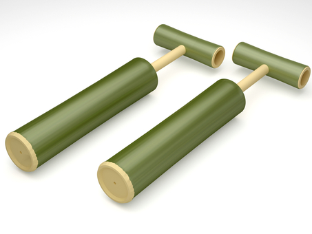 Bamboo water gun