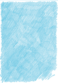 Crayon background blue