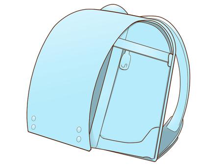 School bag (light blue)