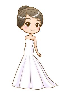Wedding dress - Mermaid line
