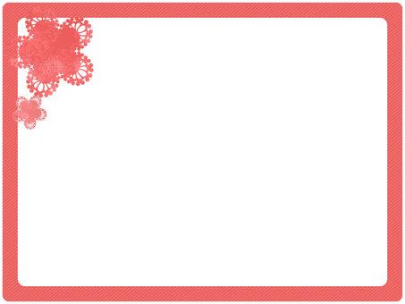 단순 프레임 핑크