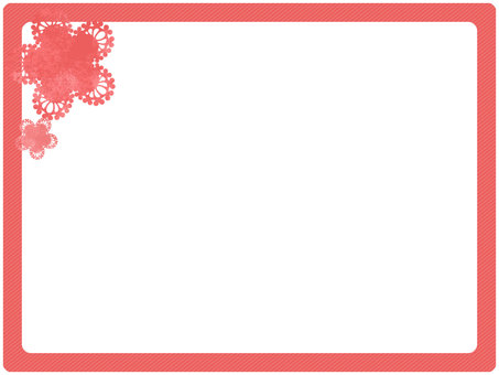 Simple frame pink