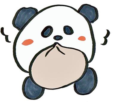 熊貓吃肉肉