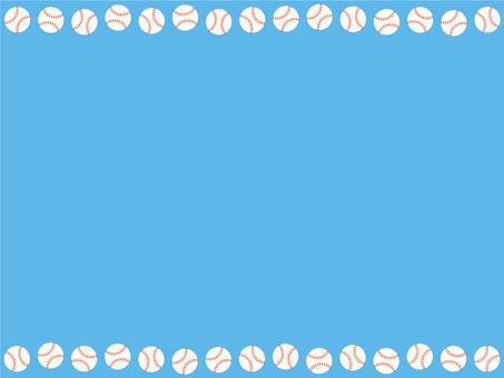 Baseball image frame 3