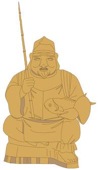 Figurines of Ebisu