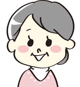 Grandma up