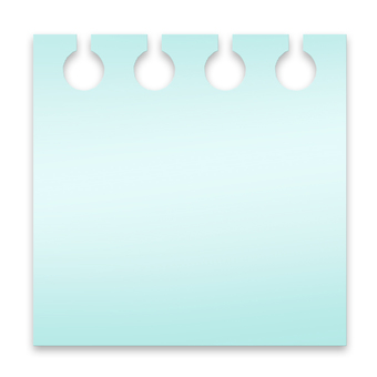 Memo paper (light blue
