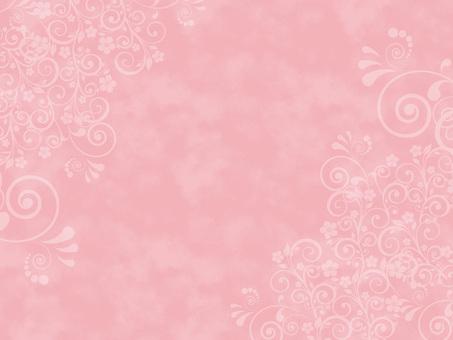 핑크 수채화 풍의 배경