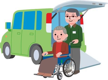 Senior care driver