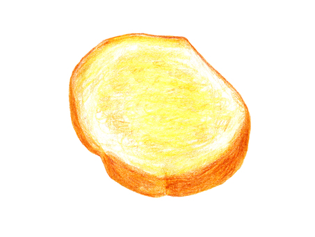 Rusk 01 (color pencil drawing)