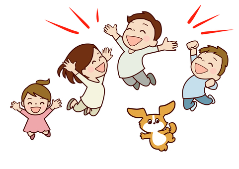 Jump with family