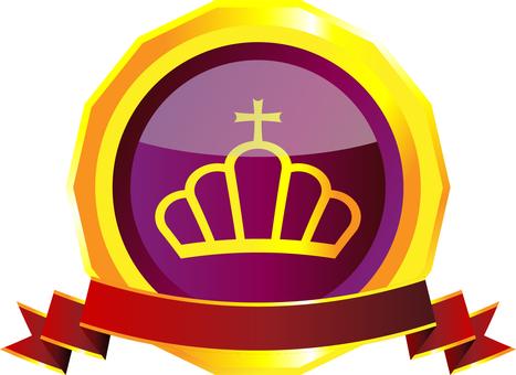 Crown medal