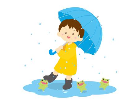 Rain _ juvenile