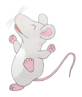 Dancing mouse handwriting