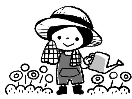 gardening1 monochrome ver