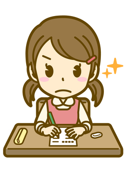 Girls (children): A_ test 03BS