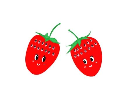 딸기 캐릭터