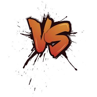 VS (Versus, match)