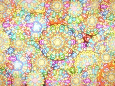 Sparkling fireworks wallpaper 2