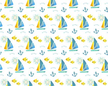 Yacht pattern