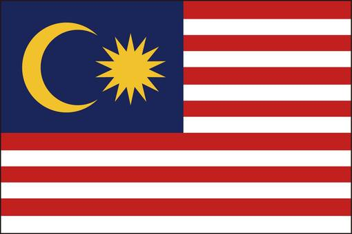 Malaysian flag (without name)