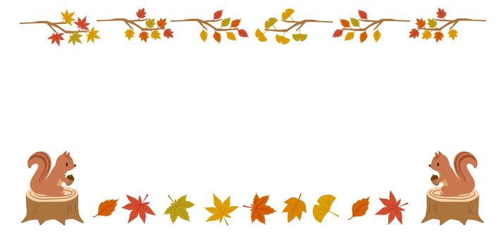 Fall decorative frame 29