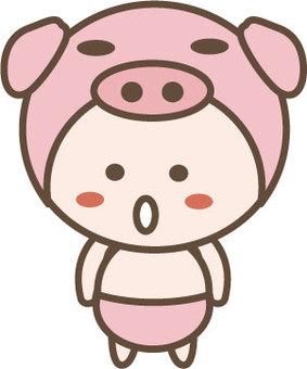 Swine character 4