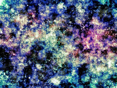 Colorful cosmic texture