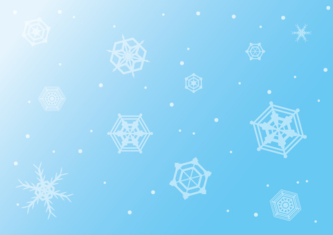 Background 75_ Snow Crystal (blue)