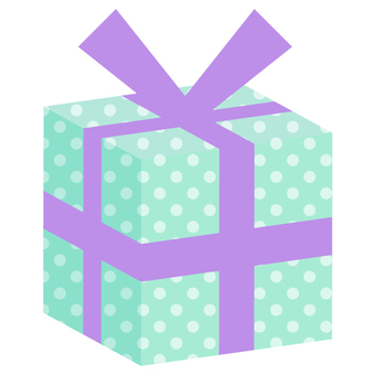Present box (solid) Green · purple · dot