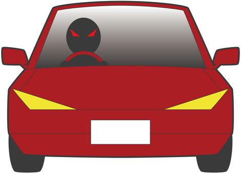 Arai driving · red