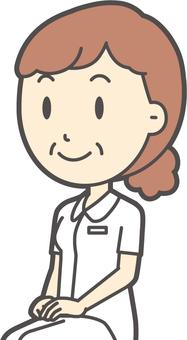 中年女護士白大衣-201-胸圍