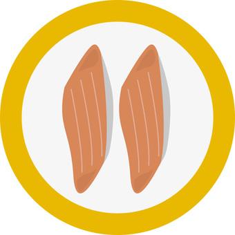 Salmon (spin rice)