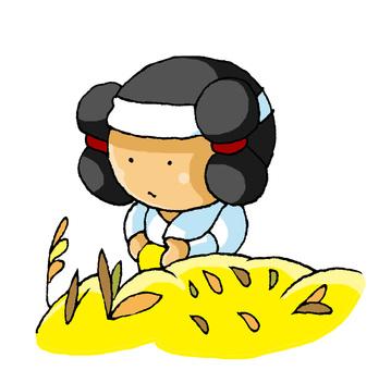 彌生時代的水稻種植