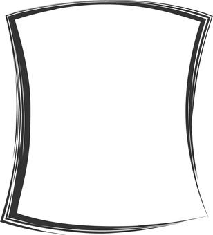 Frames written in black