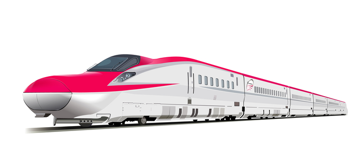 Shinkansen illustration