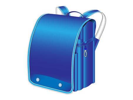 School bag (blue)