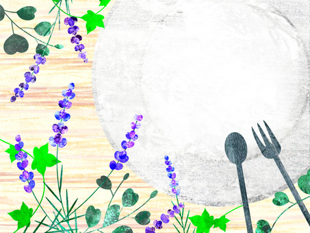 Lavender _ Dining table 02