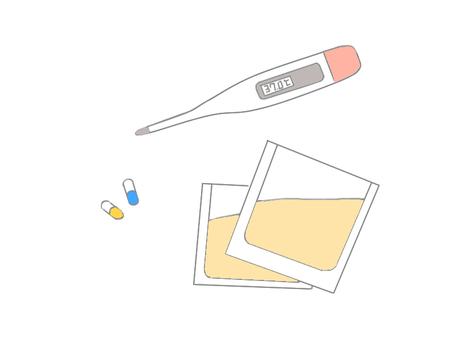 Thermometer & medicine ★