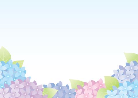 紫陽花の背景2
