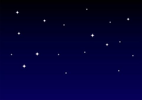 02 Simple Starry Sky