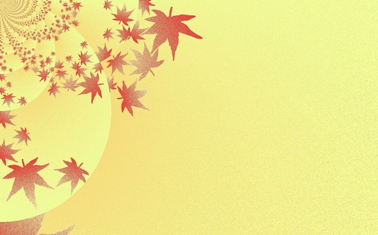 Background material · red leaves