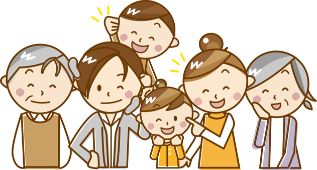 Family _ A 15 【pastel】