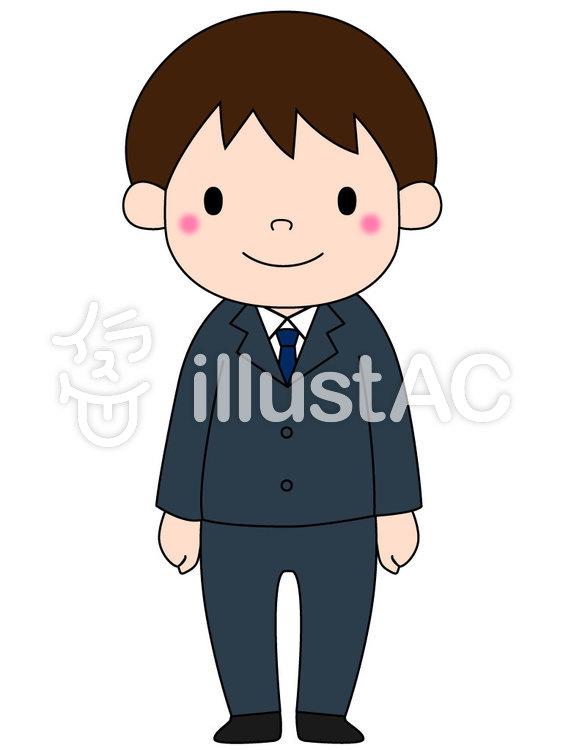 男の子スーツイラスト No 462820無料イラストならイラストac