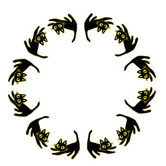 Black Cat Circle 1